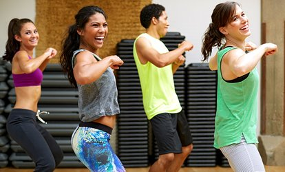 image for $18 for Five <strong>Zumba</strong> Classes at Streetlight Studios, LLC ($35 Value)