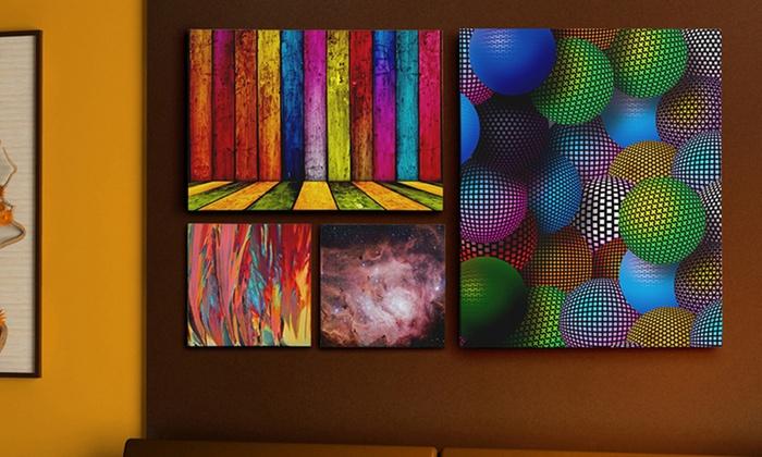 3 5 Or 7 Panel Custom Canvas Print Displays