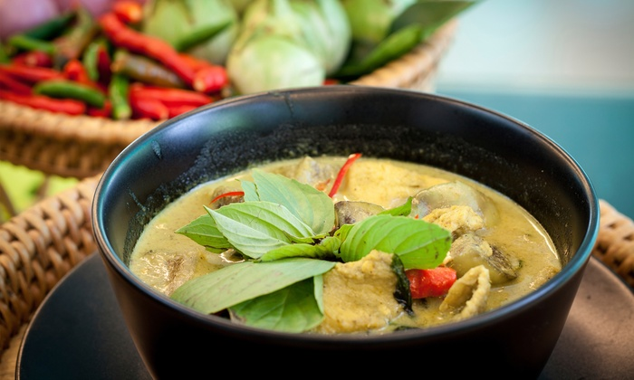 Aloy Thai Cuisine - Boulder: $25 for a Thai Dinner for Two at Aloy Thai Cuisine (Up to $42 Total Value)