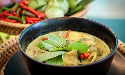$25 for a Thai Dinner for Two at Aloy Thai Cuisine (Up to $42 Total Value)