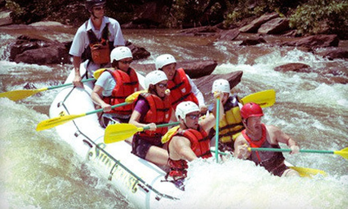 Sunburst Adventures - Benton: Half-Day Whitewater-Rafting Trip for One, Two, Four, or Six on the Ocoee River from Sunburst Adventures (Up to 61% Off)