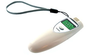 Testech Personal Digital Alcohol Tester Breathalyzer With Lcd Display