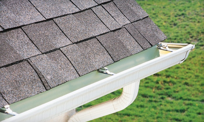 Roof Care Group - Acworth: Gutter Cleaning, Pressure Washing, or Both for a Home of Up to 3,000 Square Feet from Roof Care Group (Up to 64% Off)