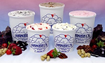 $12 for Ice Cream and Yogurt at Handel's Homemade Ice Cream & Yogurt ($20 Total Value)