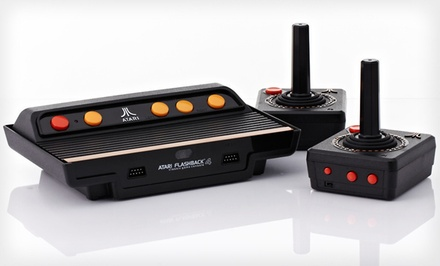 Atari Flashback 4 Classic Game Console $35.99 Shipped
