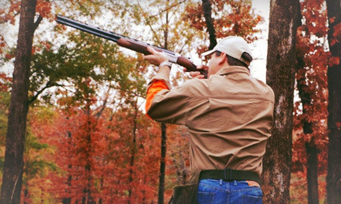 Wildcat Creek Quail Hunting Resort - Detroit: Clay-Shooting Package with Instruction and Lunch for Two or Four at Wildcat Creek Quail Hunting Resort (Up to 64% Off)