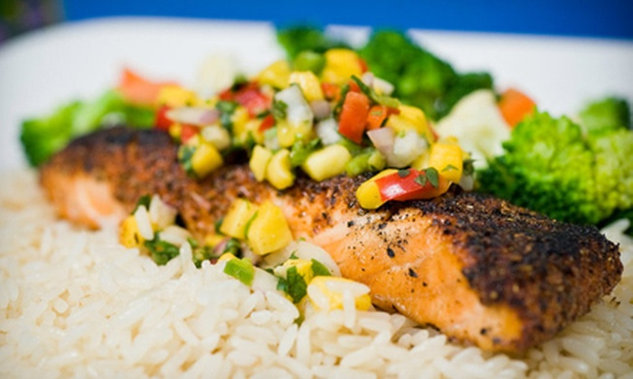 Indigo Café - Cortez: Cali-Cajun Cuisine for Dine-in or Catering at Indigo Café (Half Off). Three Options Available.
