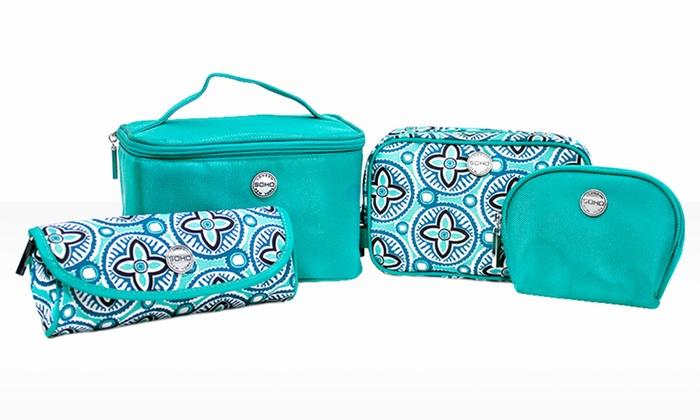 SOHO Beauty 4-Piece Travel Bag Set: SOHO Beauty 4-Piece Travel Bag Set. Free Returns.