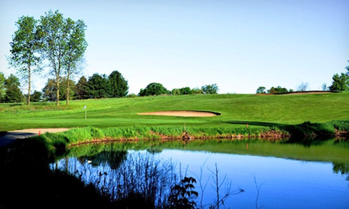 Braeside Golf Club - Courtland: Round of Golf for Two with Cart and Range Balls at Braeside Golf Club (Up to Half Off). Weekday or Anytime Tee Times.