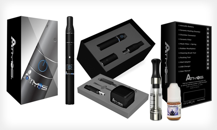 Atmos Rx Dry Vaporizer Kit and Oil Bundle: $69.99 for Atmos Rx Dry Vaporizer Kit with Oil Adapter and Oil ($233.21 List Price). 4 Colors Available. Free Shipping.