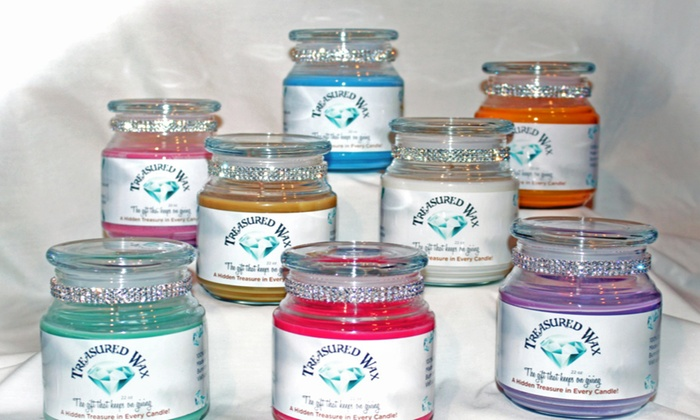 Treasured Wax Candles - Great Uptown: $12 for $20 Worth of Candles at Treasured Wax Candles