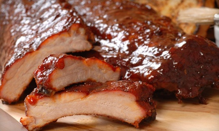 Ribs USA - Burbank: $25 for $50 Worth of Barbecue and Drinks at Ribs U.S.A.