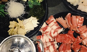 Riverside Hot Pot Cuisine: Fusion Hot Pot Cuisine for Two or Four or More Adults at Riverside Hot Pot Cuisine (34% Off)