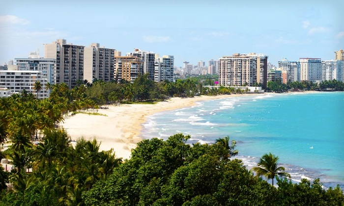 San Juan Water Beach Club Hotel - Isla Verde 979: Three-, Four-, or Five-Night Stay with Daily Continental Breakfast at San Juan Water Beach Club Hotel in Puerto Rico