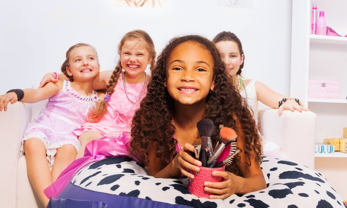 Mini Divas Mobile Spa - Hollywood: Spa Package for Two or Three Kids from Mini Divas Mobile Spa (Up to 43% Off). Six Options Available.