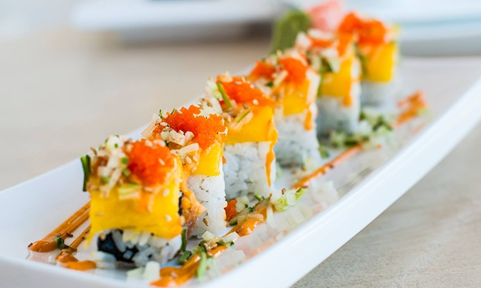 B Cafe - B Cafe : $8 for $15 Worth of Sushi and Japanese Food at B Cafe