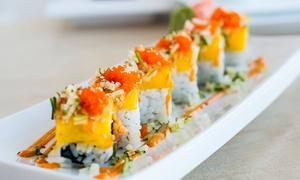 B Cafe: $8 for $15 Worth of Sushi and Japanese Food at B Cafe