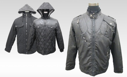 Brave Soul Men's Coats. Multiple Styles Available.