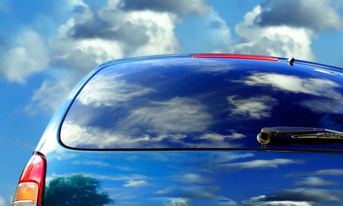 High Voltage Audio - El Paso: Window Tinting for a Two- or Four-Door Vehicle at High Voltage Audio (Up to 51% Off)