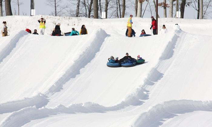 Wild Mountain Recreation Area - Wild Chutes Snow Tubing: Two Hours of Snow Tubing for Two at Wild Mountain Recreation Area (Up to 58% Off)