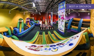 Jumpin' Jamboree: Kids' Bounce Visit for Two or Four or Party for Eight Children at Jumpin' Jamboree (Up to 36% Off)