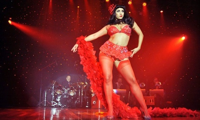 "The Queens of Burlesque - Joy Theater: Two Tickets to ""The Queens of Burlesque"" at The Joy Theater on March 24 at 8 p.m. or 10:30 p.m. (Up to $63 Value)"