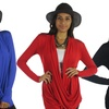 Free to Live Women's Criss-Cross Cardigan