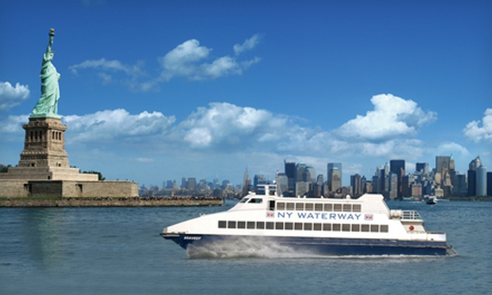 NY Waterway - Belford: Ferry from Belford to NYC with Round-Trip Option with NY Waterway (Up to 42% Off)