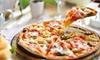 Menú italiano con pasta o pizza