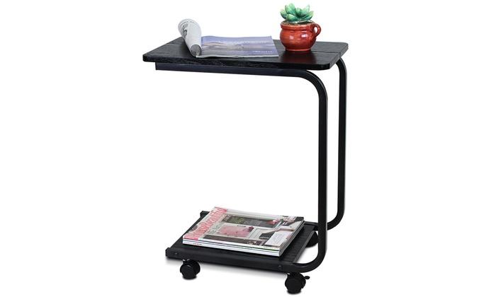Awesome ... Furinno U Shaped Portable Side Table: Furinno U Shaped Portable Side  Table ...
