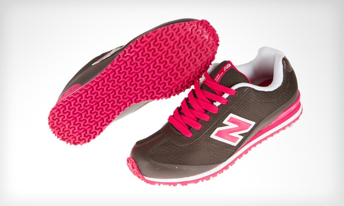 New Balance Kids' 490 Sneakers: $34 for New Balance Kids' 490 Sneakers in Brown and Pink ($44.99 List Price). Free Shipping. Multiple Sizes Available.
