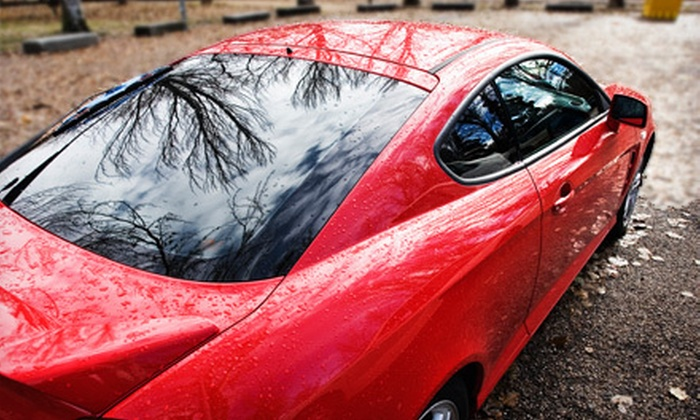 Tint Professor - Sierra Gardens: Auto Window Tinting for Rear Windshield with Back Side Windows or All Side Windows at Tint Professor (Up to 60% Off)