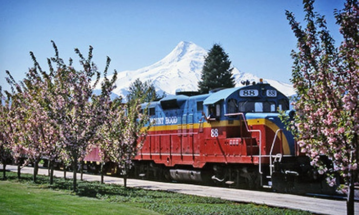 Mount Hood Railroad - Mount Hood Railroad Depot: Four-Hour Scenic Train Tour from Mount Hood Railroad (Up to 51% Off). 23 Options Available.