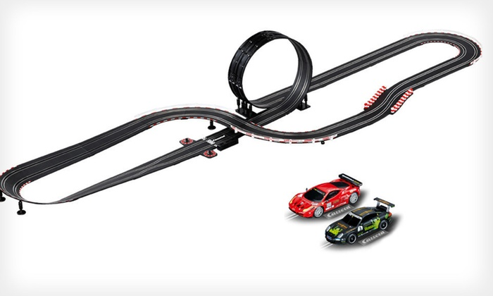 Carrera GT Electronic Slot Car Set: $55.99 for a Carrera Go!!! GT Fever Electronic Slot Car Set ($139.97 List Price). Free Shipping.