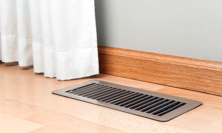 Air-Duct Cleaning with Optional Dryer-Vent Cleaning from Clean 4 Clean (Up to 88% Off)