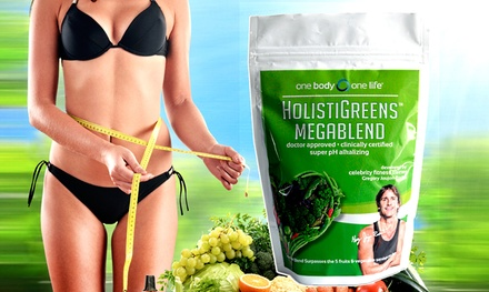 Buy 1 Get 1 Free:Celebrity-Endorsed Holistic Greens Super Food and E-Book