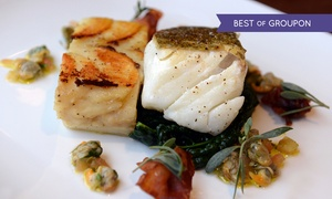 The Granary Hotel & Restaurant - Non-Accommodation: Two-Course Dinner for Two or Four at The Granary Hotel & Restaurant (Up to 45% Off)