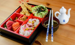 Itamae Sushi Restaurant, LLC: Bento of Choice with Drinks for Up to Four at Itamae Sushi Restaurant Dine In, Delivery Or Take Away (Up to 57% Off)