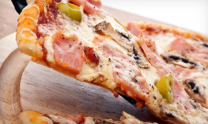 Al's Pizzeria - St. Thomas: $16 for Two Large Three-Topping Pizzas and Four Cans of Pop at Al's Pizzeria ($35.48 Value)
