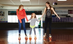 Spin City Skate Center: Birthday-Party or Public-Skate Package at Spin City Skate Center (50% Off). Five Options Available.