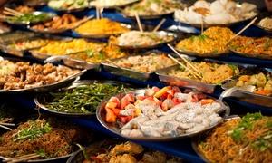 Henkaku Sushi & Asian Restaurant: Asiatisches All-you-can-eat-Mittagsbuffet inkl. Softgetränk im Henkaku Sushi & Asian Restaurant (bis zu 28% sparen*)