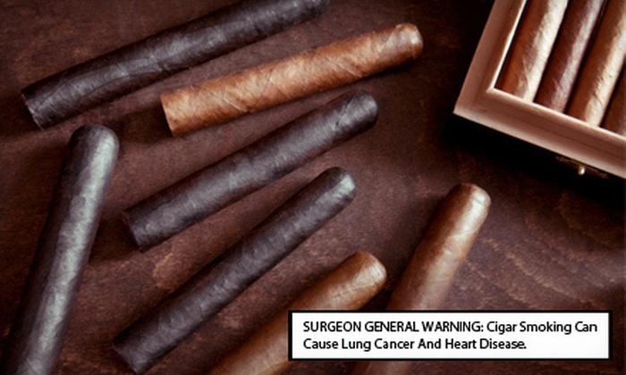Kalahari Cigar Bar & Lounge - Greer: $10 for $20 Worth of American Food and Cigars or $20 for $40 Worth of Cigars at Kalahari Cigar Bar & Lounge
