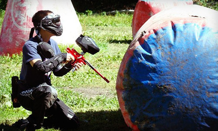 Action Park Paintball - Penn: All-Day Paintball Package for Two, Four, or Six with Gear and Paintballs at Action Park Paintball (Up to 60% Off)