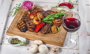 Restaurant Anemos: Griechisches Grillplatten-Menü für 2 oder 4 Personen im Restaurant Anemos (bis zu 50% sparen*)