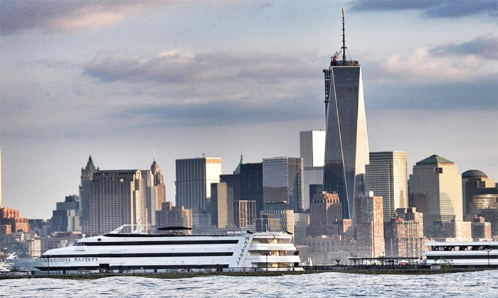 Cornucopia Cruise Line - Perth Amboy: Cruise for Two with Brunch, Dinner Buffet, Lunch, or 4-Course Dinner from Cornucopia Cruise Line (Up to 46% Off)
