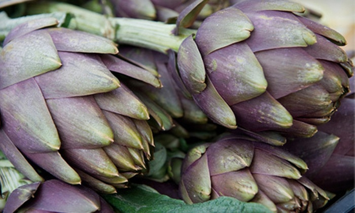 Crooked Sky Farms - Central City: Artichoke Roast Festival Outing for Two or Family of Five at Crooked Sky Farms (51% Off)