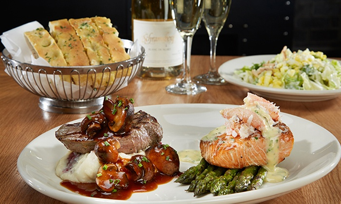 Scott's Bar & Grill - Edmonds: Local and Seasonal Dinner at Scott's Bar & Grill (Up to 30% Off). Two Options Available.