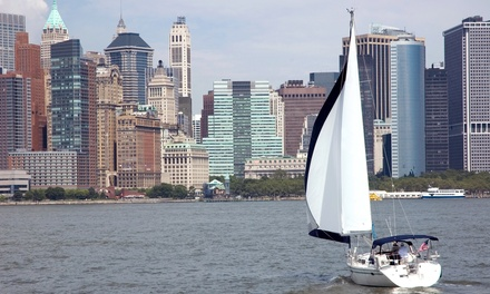 Two-Hour Scenic Day Sail for One or Two from Sail the Hudson (Up to 55% Off)