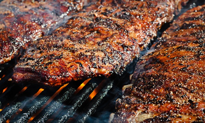 Dick's Bodacious Bar-B-Q - Indianapolis: Casual American Barbecue Cuisine for Two or Four at Dick's Bodacious Bar-B-Q (Half Off)