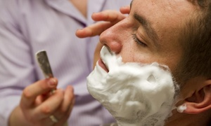 The Guys Old Fashioned Barbershop: A Men's Haircut and Shave from The Guys Old Fashioned Barbershop (56% Off)